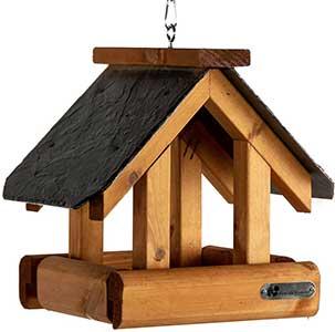 Riverside Woodcraft Hanging Bird Table