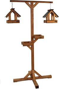 Riverside Woodcraft Premium Bird Feeding Station