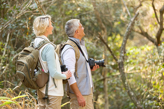 Couple Bird Watching