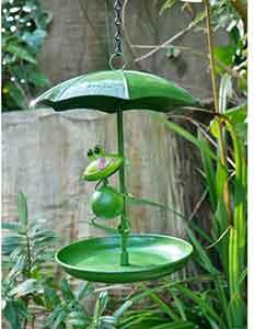 Frog Bird Feeder