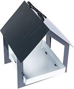 Modern Hanging Bird Table