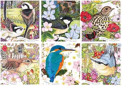 RSPB Garden Birds Jigsaw Puzzle