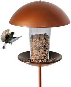 Modern Stake Bird Table
