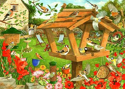 Strictly For The Birds Jigsaw