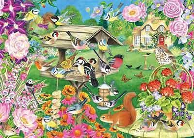 Summer Garden Birds Jigsaw