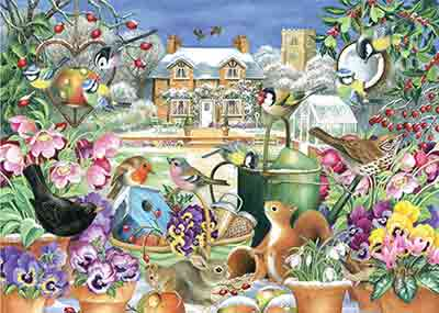 Winter Garden Jigsaw Puzzle