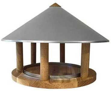 Zinc Bird Table