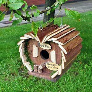 Bird Hotel Nesting Station