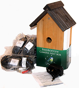 BirdBoxView Nest Box With Cam
