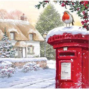 RSPB Christmas Post Cards