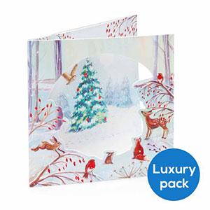 RSPB Festive Forest Christmas Cards