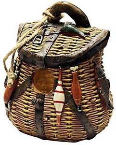 Fishing Basket Birdhouse