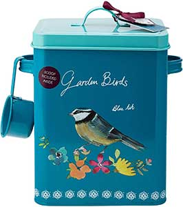 Garden Birds Storage Tin