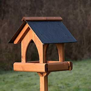 Gothic Slate Bird Table