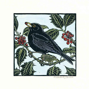 RSPB Hiding In The Holly Christmas Cards