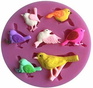 Bird Pattern Cake Decoration Mould