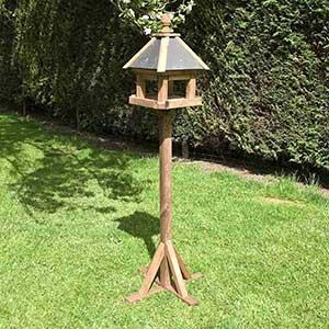Rowlinson Slate Roof Bird Table