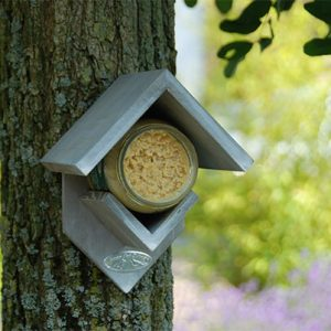 Peanut Butter Bird Feeder