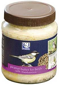 Peanut Butter With Mealworms