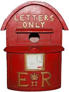 Post Box Birdhouse