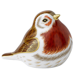 Robin Royal Crown Derby Paperweight