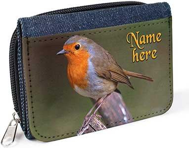 Personalised Robin Purse