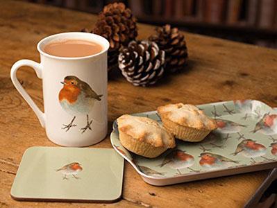 Robin Time For Tea Gift Set