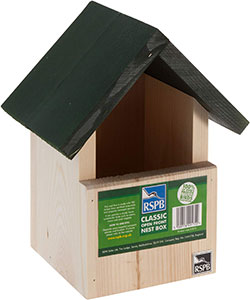 RSPB Open Front Nest Box