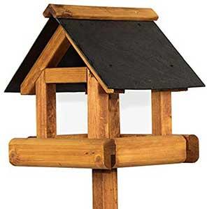 Sherringham Slate Roof Bird Table