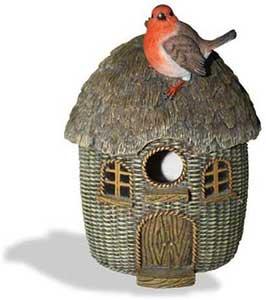 Wicker Robin Birdhouse