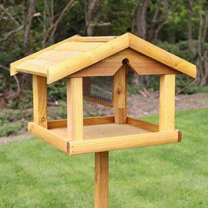 Bird Table With Nut Feeder