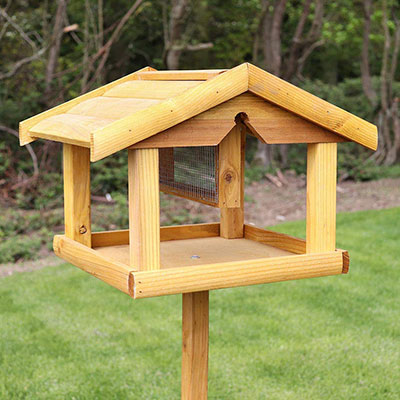 Bird Table With Nut Feeder