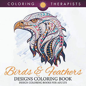 Birds & Feathers Designs Coloring Book