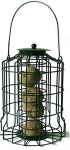 Caged Suet Ball Feeder