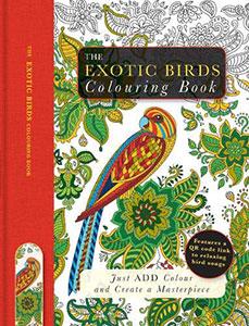 The Exotic Birds Colouring Book