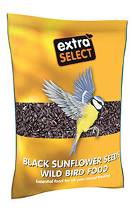 Extra Select Black Sunflower Seeds