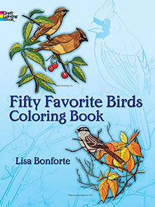 Fifty Favourite Birds Coloring Book