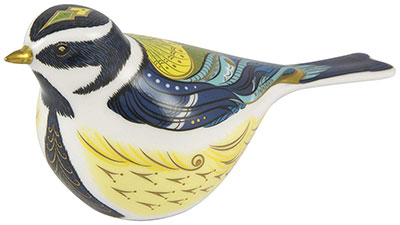 Royal Crown Derby Great Tit Paperweight