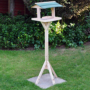Green Roof Bird Table