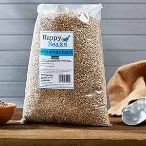 Happy Beaks Sunflower Hearts
