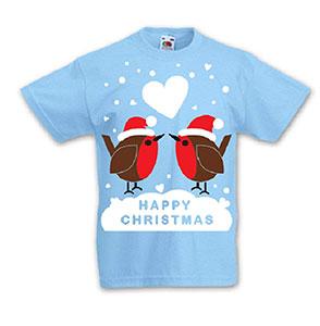 Christmas Robin Kids' T-shirt