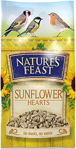 Nature's Feast Sunflower Hearts
