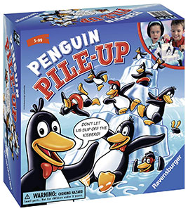 Penguin Pile Up Game