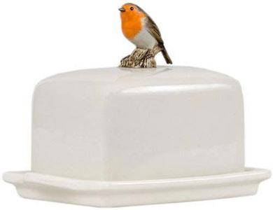 Robin Butter Dish