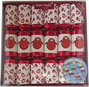 Racing Robin Christmas Crackers