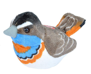 RSPB Bluethroat Soft Toy