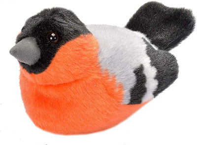 RSPB Bullfinch Soft Toy