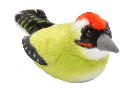 RSPB Green Woodpecker Soft Toy