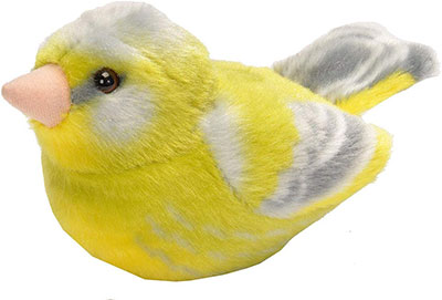 RSPB Greenfinch Soft Toy