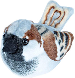 RSPB House Sparrow Soft Toy